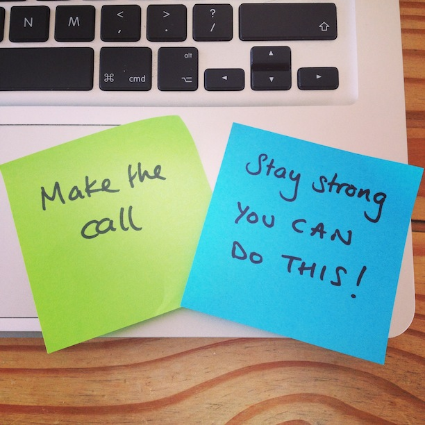 post-it-messages